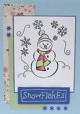 Snowfks card