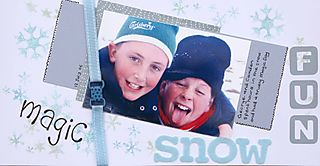 Magic snow fun