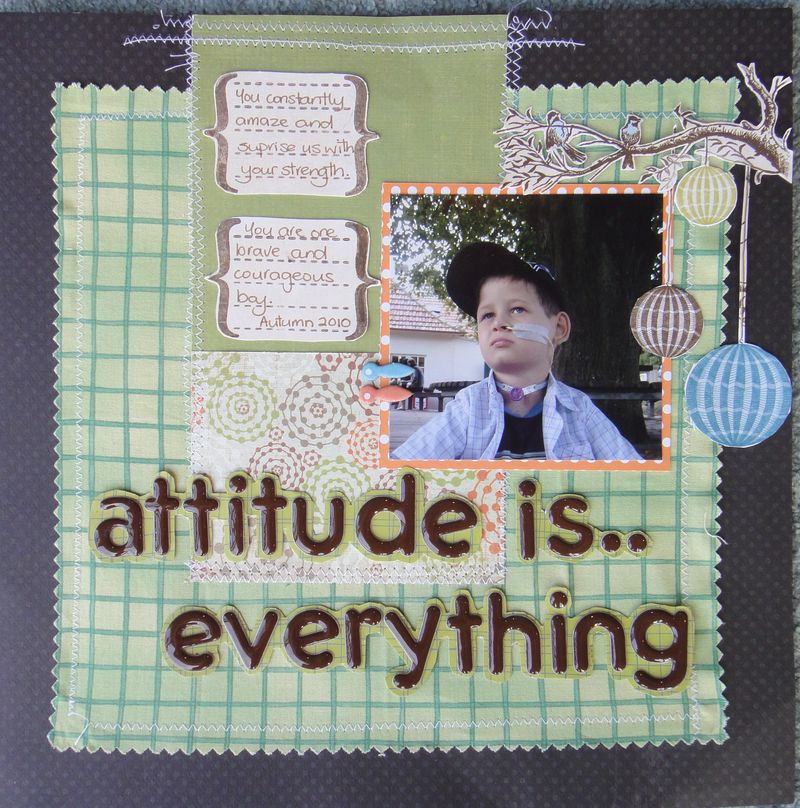 Attitude is everything challenge